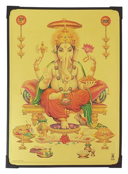 Buy Lord Ganesha Photo Frame ( 30.5 cm x 22.5 cm x 1 cm ) / Wall ...