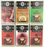 Stash Tea Chai Lovers Tea Assortment, 6-Count