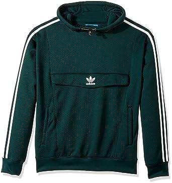 Amazon Com Adidas Originals Men S Outerwear Anorak Hoodie Green