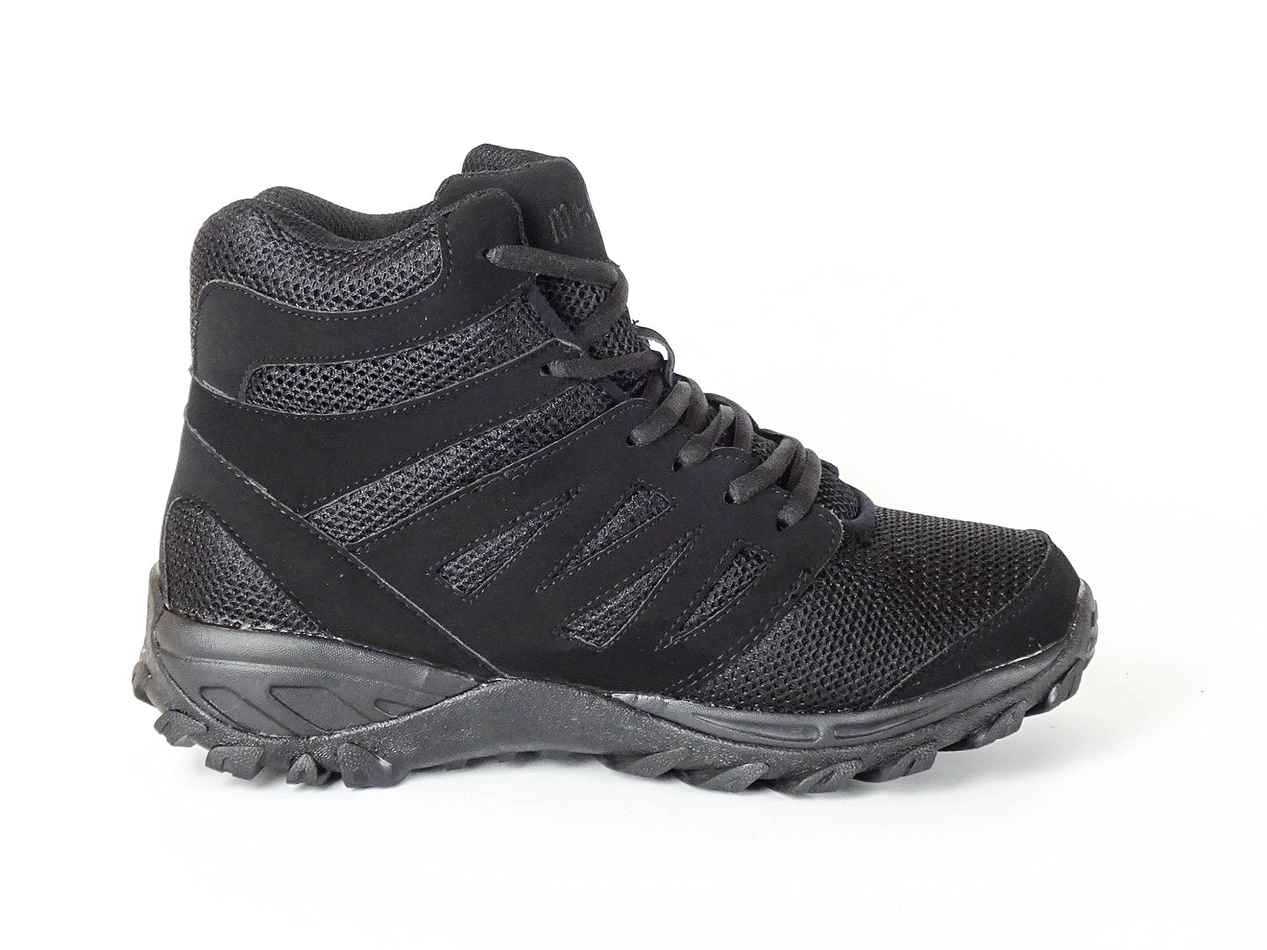 Mt. Emey 9713 Men's Atheletic Walking Boot Lace Black