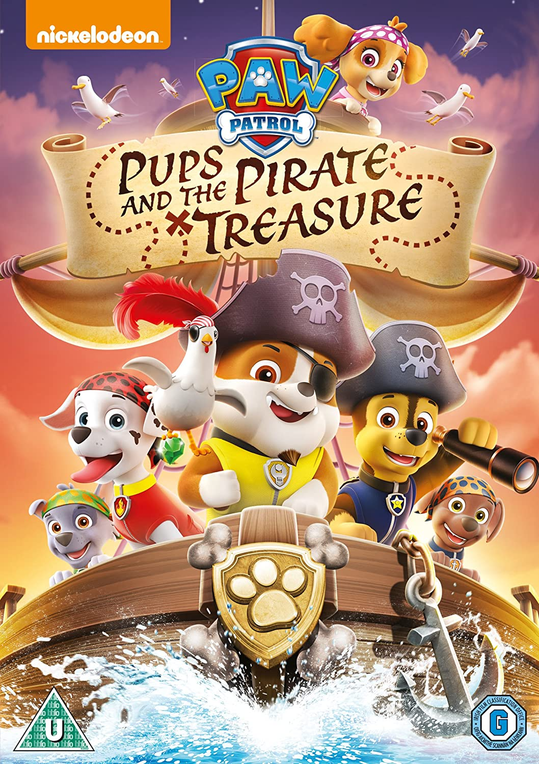 Paw Patrol: Pups And The Pirate Treasure 2015