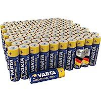 Varta Industrial Batterij AA Mignon Alkaline batterijen LR6 - Verpakking met 100 stuks, Zwart