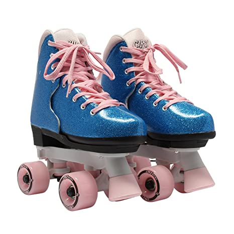 Roller Skates Amazon Com >> Circle Society Classic Adjustable Indoor And Outdoor Childrens Roller Skates