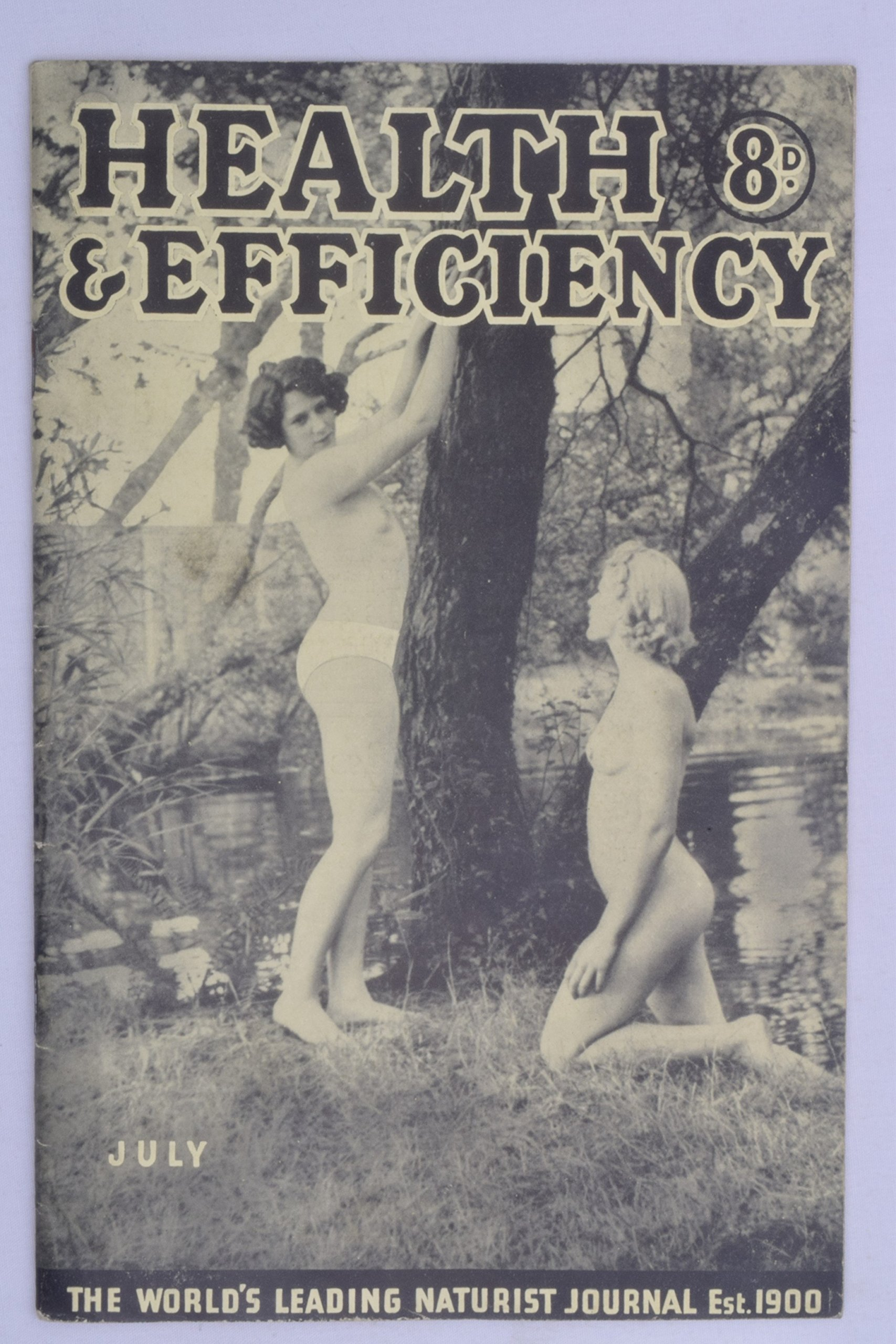 Retro nudist magazine think, that