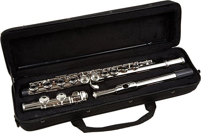 Jäger - Flauta en ut con estuche/funda: Amazon.es: Instrumentos musicales
