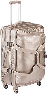Kipling Cyrah M Trolley, 69 cm, 71 litros, Metallic Pewter (Dorado)