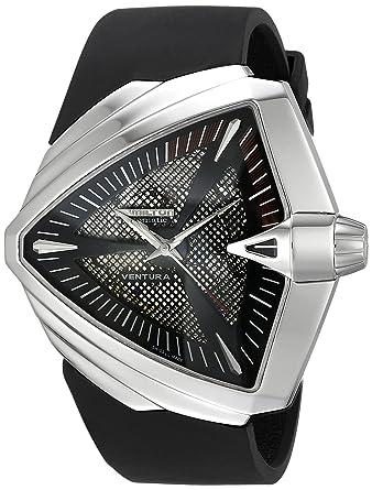 42b1f810247a Amazon.com  Hamilton Men s H24655331 Ventura XXL Analog Display Swiss  Automatic Black Watch  Hamilton  Watches