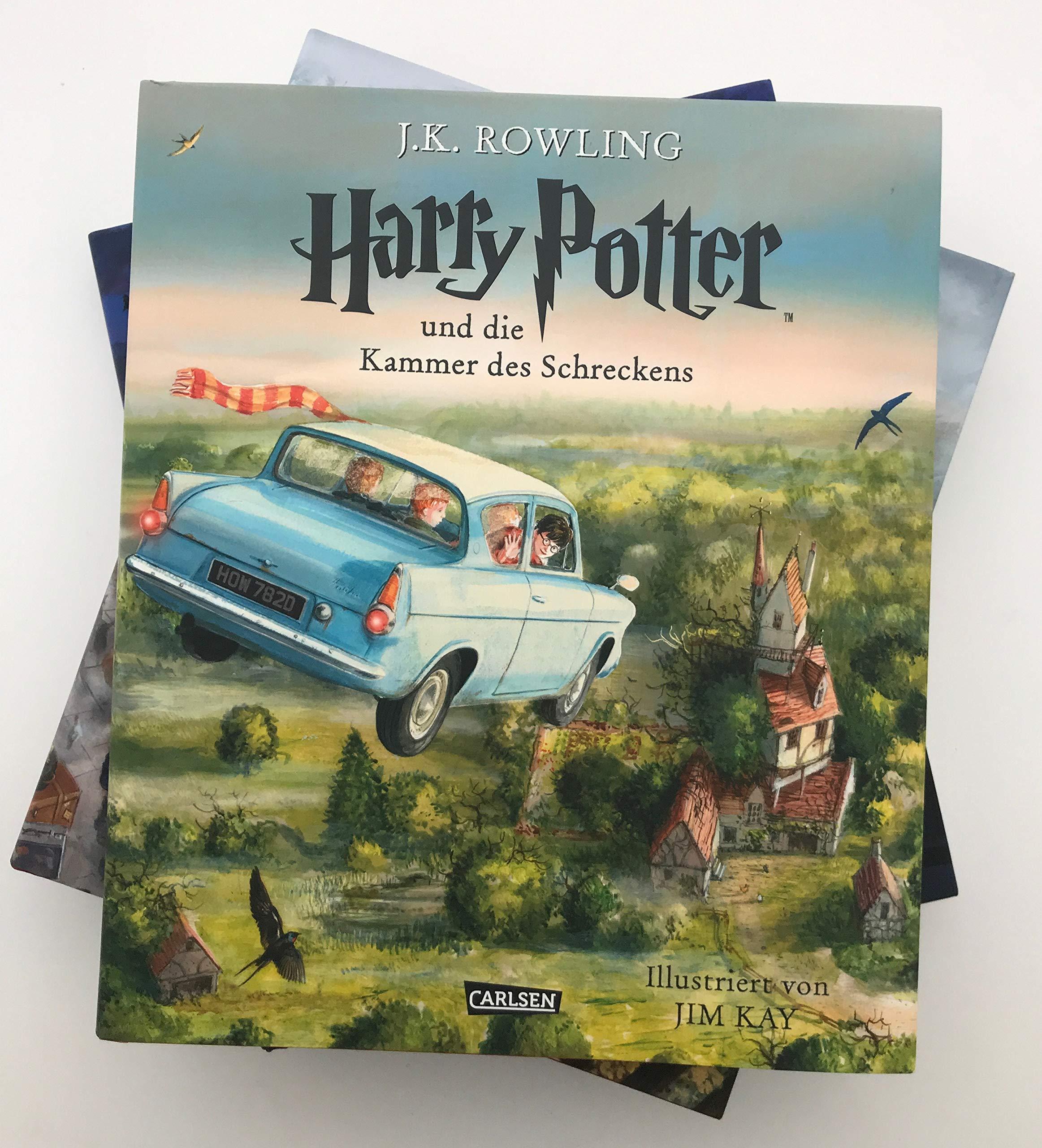 harry potter illustrierte ausgabe