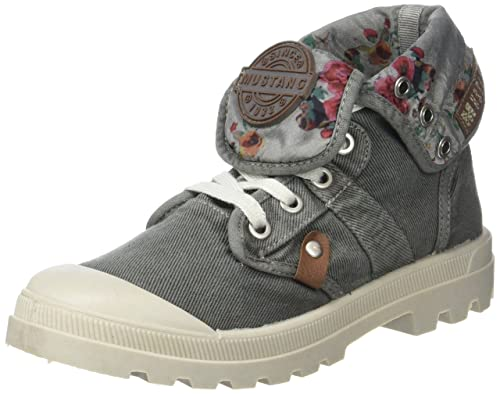 Mustang 1160-507, Botines Mujer, Gris (2 Grau), 41 EU: Amazon.es: Zapatos y complementos