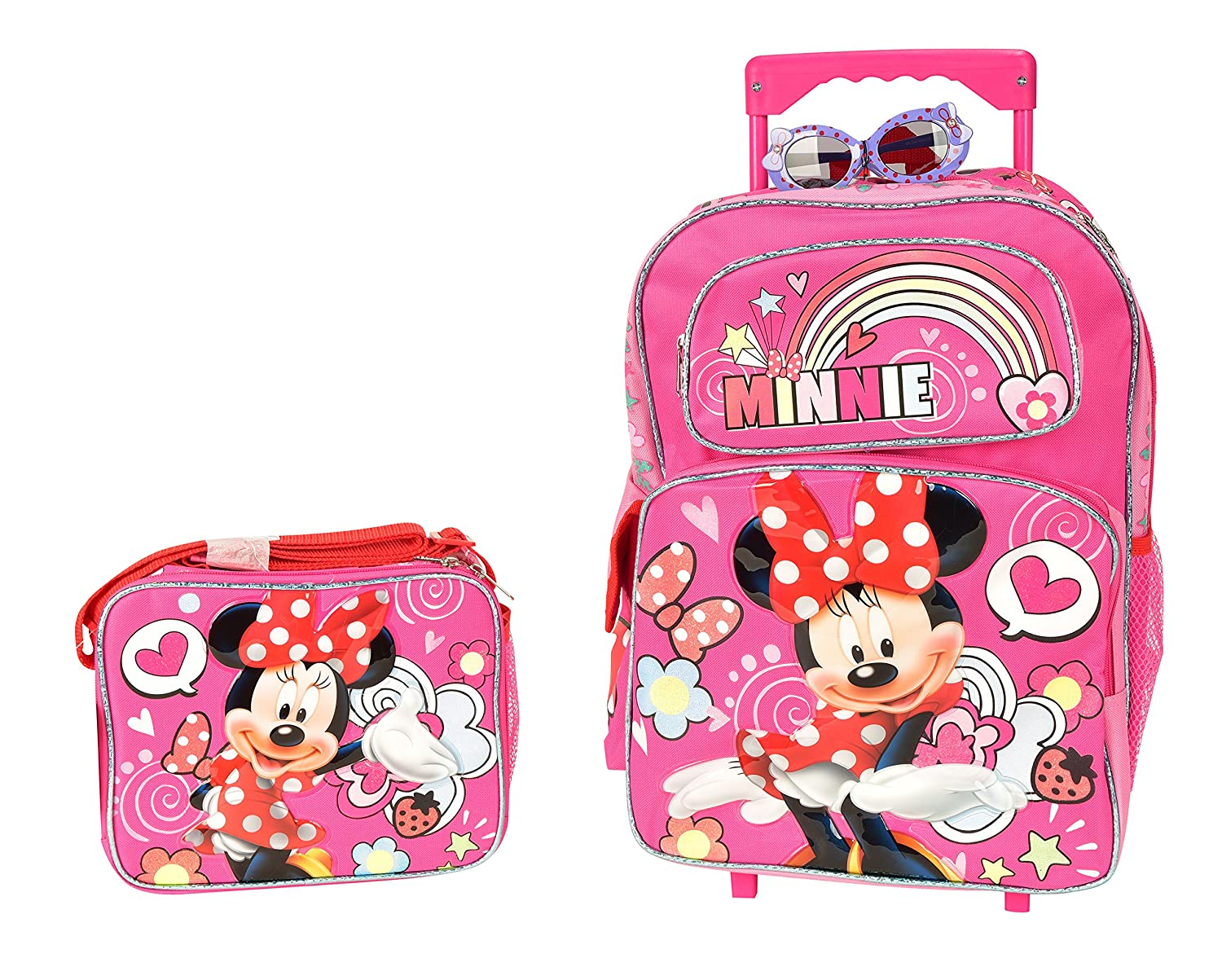 00baf02a8cb Red Glitter Minnie Mouse Backpack- Fenix Toulouse Handball