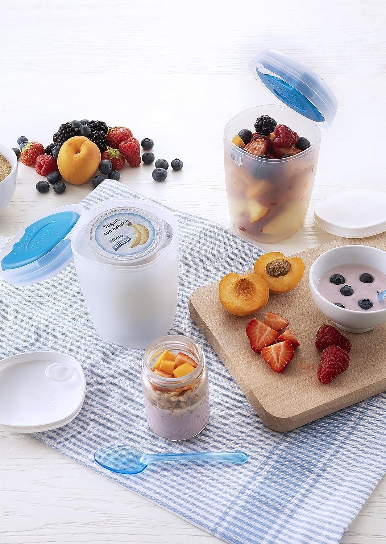 Snips - Recipiente refrigerado para el yogur, de 0,5 litros ...