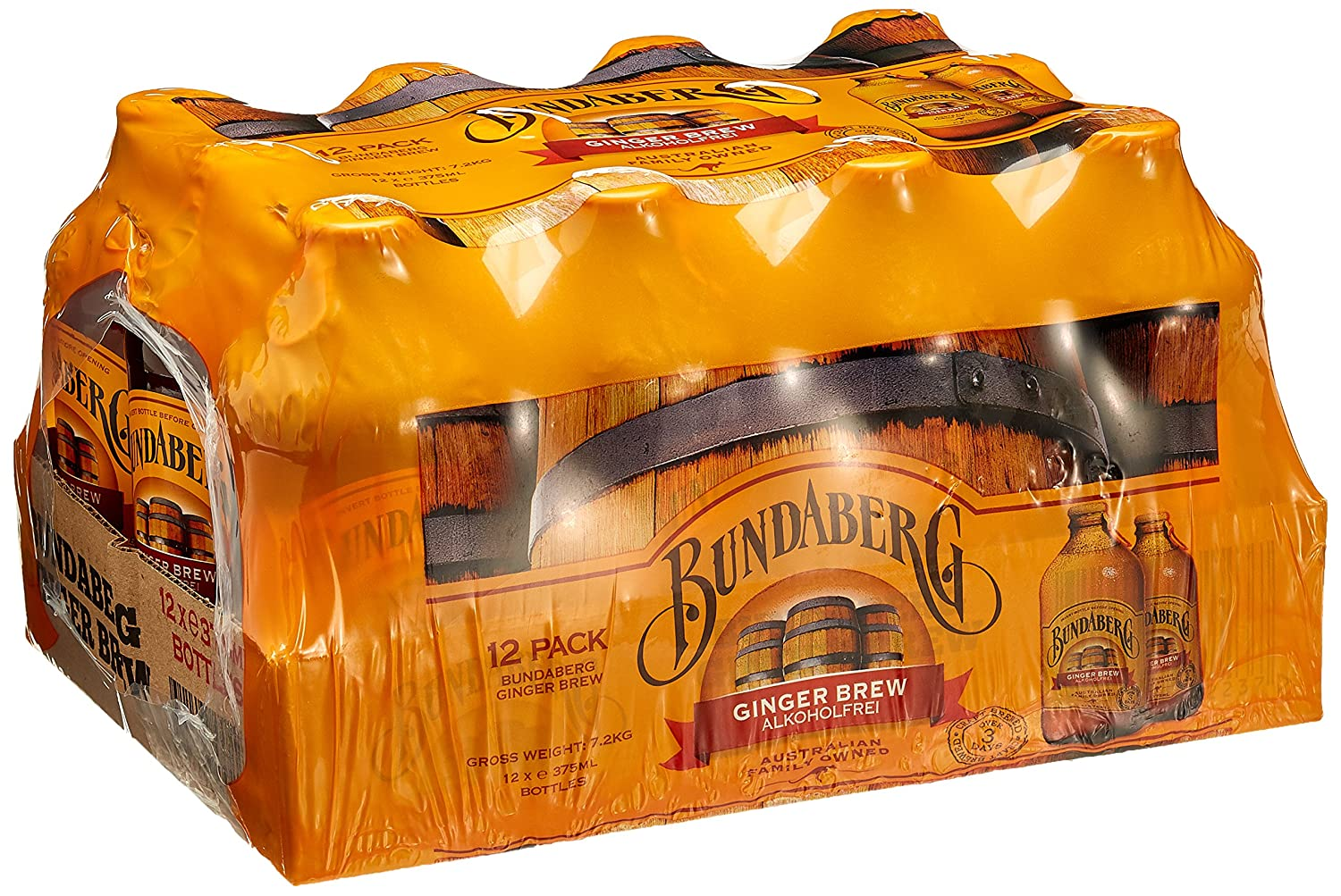 Bundaberg Ginger Brew, 12er Pack