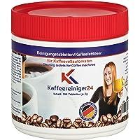 Reinigingstabletten voor volautomatische koffiemachines 200 stuks van 2g elk geschikt voor Jura, Siemens, Melitta, Krups…