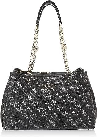 GUESS Womens Lorenna Satchel Bag