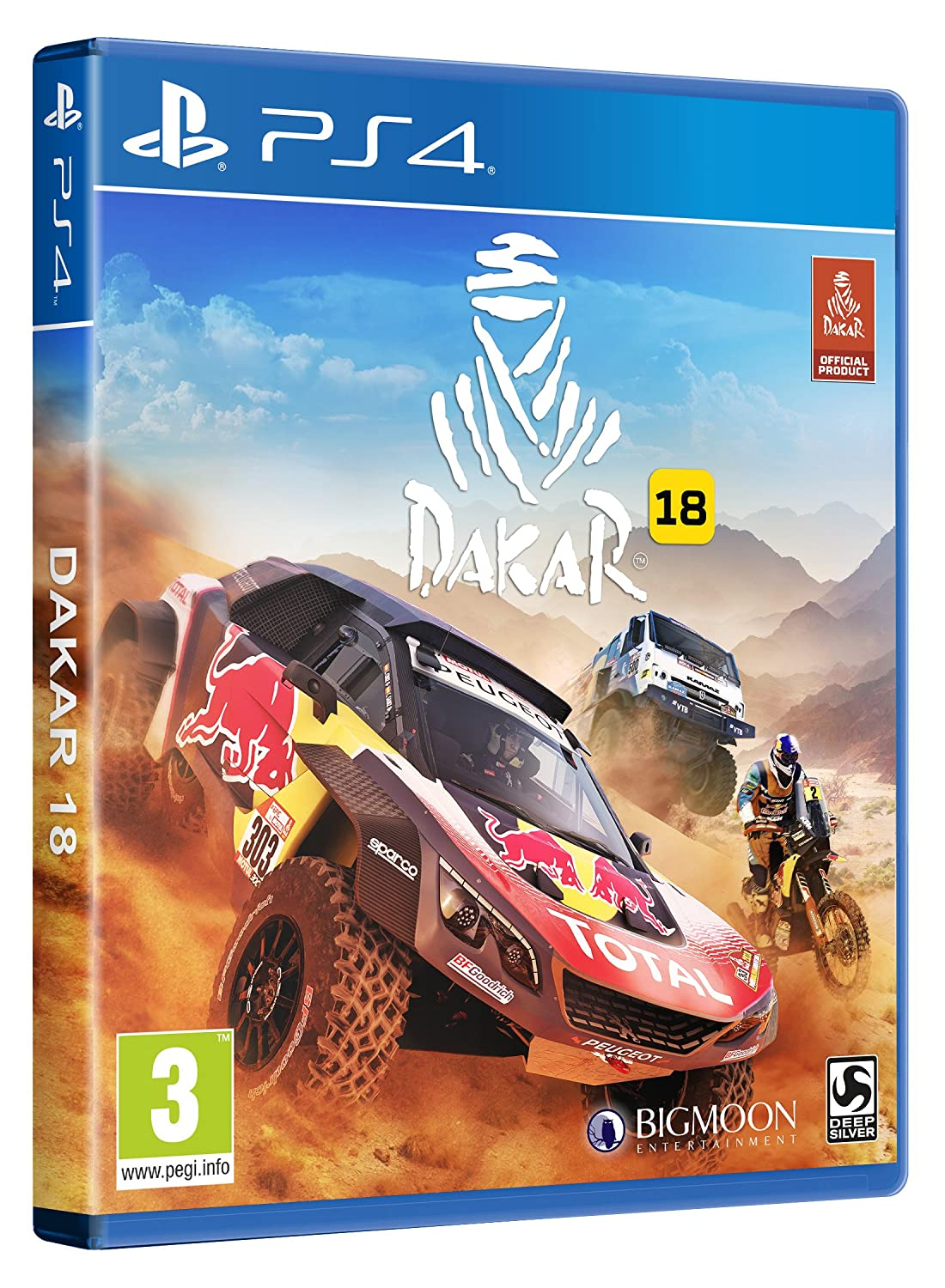 Dakar 18 Ps4 Playstation 4 Amazon Es Videojuegos