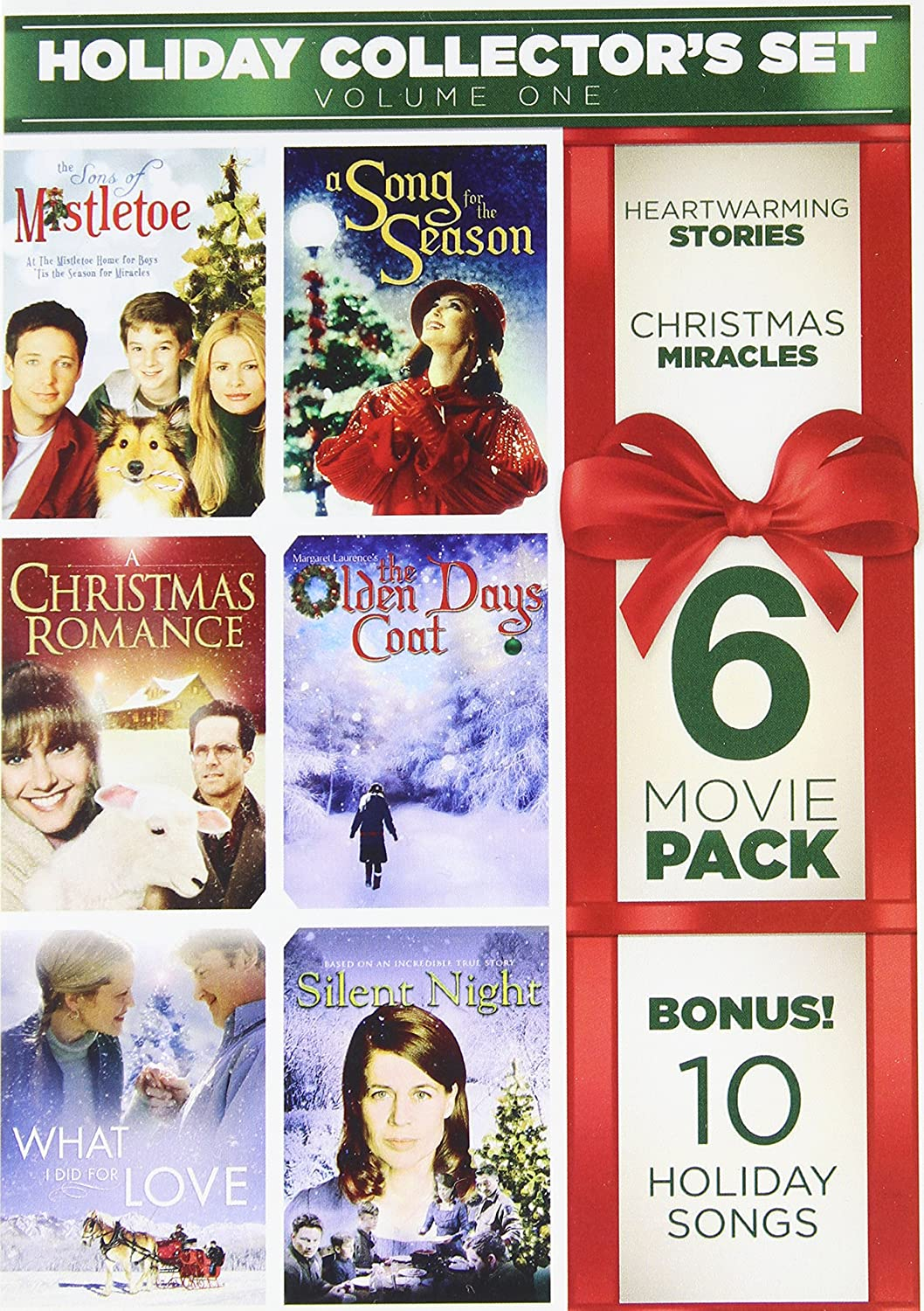 6-Film Holiday Collector's Set V.1 Bonus Audio(MP3): Christmas at the Fireside