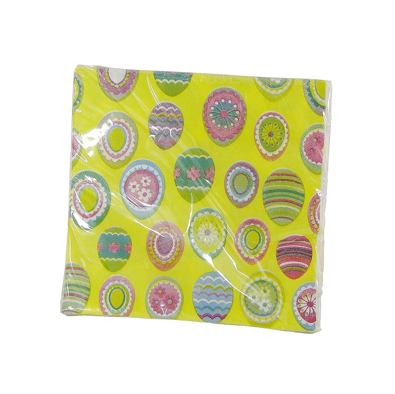 Spring Fling  Farbeful Easter Eggs Napkins by - 18 Pieces by Napkins Spring Fling 3f9d9a