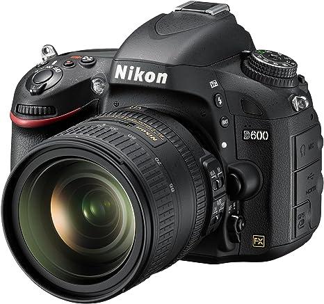 Nikon D600 - Cámara réflex digital de 24.3 Mp (pantalla de 3.2 ...
