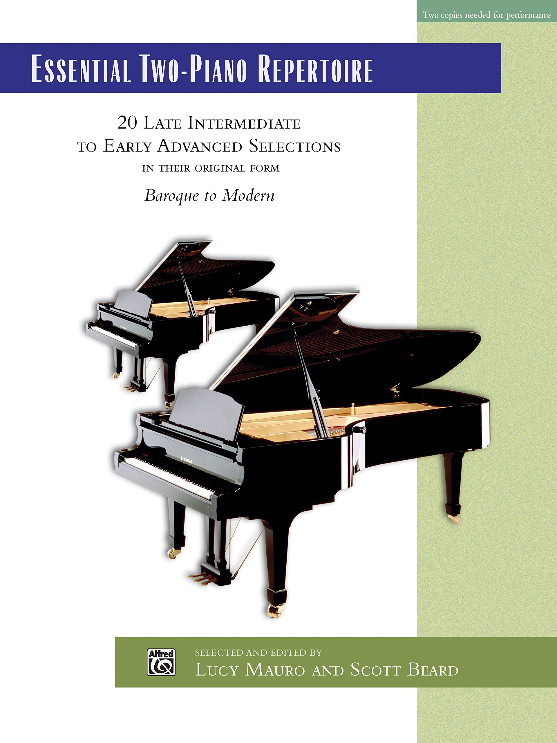 Essential Two-Piano Repertoire: 20 Late Intermediate to Early Advanced Selections in Their Original Form, Comb Bound Book (Alfred Masterwork Edition: Essential Keyboard Repertoire) pdf