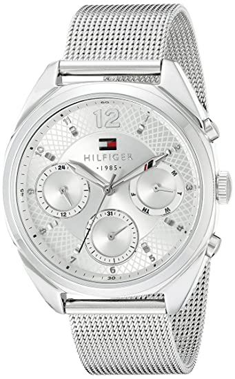 5eaeb047 Tommy Hilfiger Women's 1781628 Sophisticated Sport Silver-Tone Stainless  Steel Watch: Tommy Hilfiger: Amazon.ca: Watches