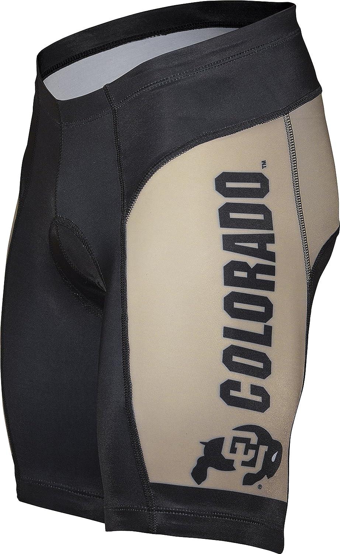 Adrenaline Promotions NCAA Farbeado Universität Herren Bike Shorts, Herren, Cycling Short