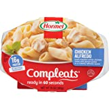 HORMEL COMPLEATS Microwave Meals - Shelf Stable - Chicken Alfredo - 10 Ounce (Pack of 6)