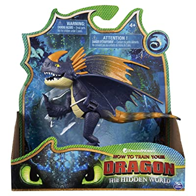 DreamWorks Dragons, Wild Nadder, Dragon Figure with Moving Parts: Toys & Games
