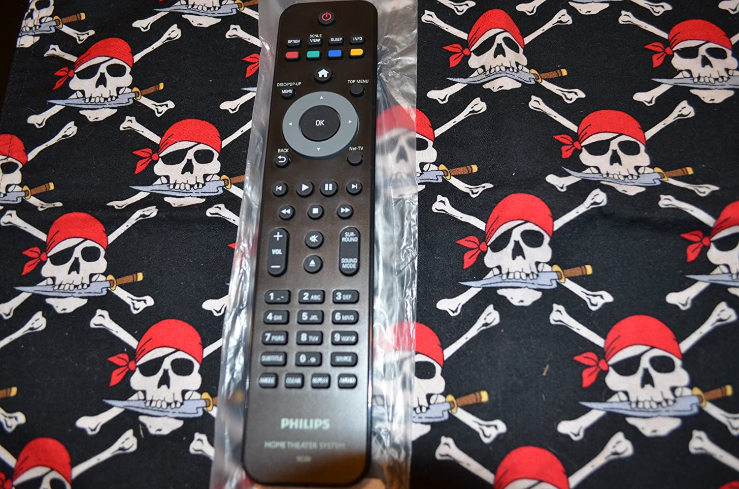 NEW Philips DVD Home Theater Remote Control NC200UD Supplied with models: HTS3306 HTS5506