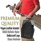 Athletico Executive Golf Shoe Bag with Luggage