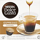 Nescafé Dolce Gusto - Espresso Caramel - Cápsulas de café - 16 cápsulas