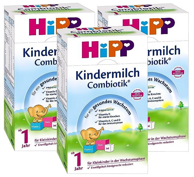 leche para bebés Hipp Bio Combiotik - de 1 año, 3-pack (3