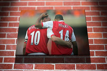 promo code a8fbb feaf9 Dennis Bergkamp and Thierry Henry Arsenal Football Gallery ...