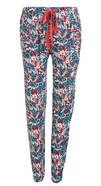 Jockey Women's Pants, Coloured Print Jockey Women's Pants