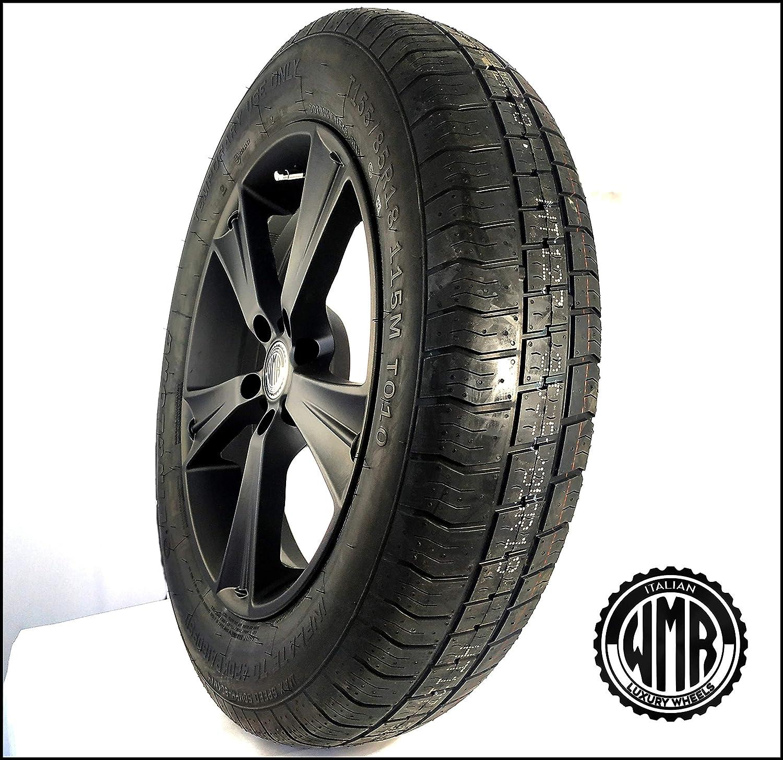 neum/ático 155 85 R18 para Audi Q5 Rueda de repuesto de aleaci/ón SP15185112155