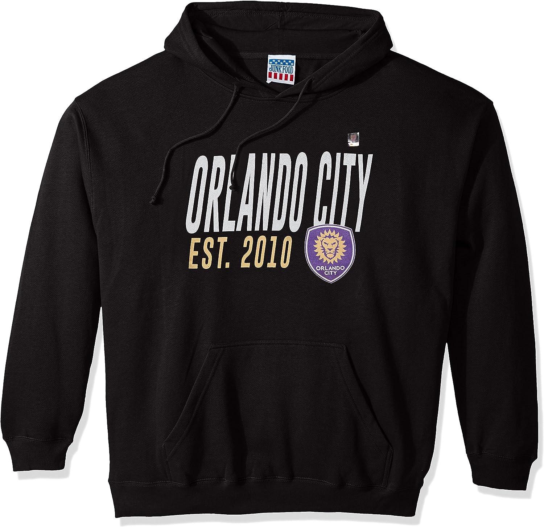 Junk Food MLS Men's Long Sleeve Pullover Hoodie