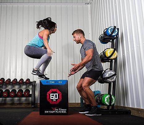 Vine Fitness Idass 3in1 Soft Plyo Jump Box