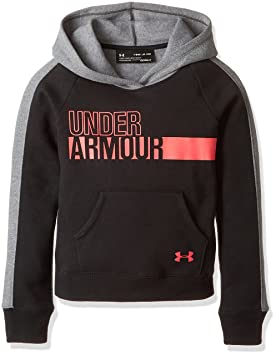 9ef10a909 Under Armour Girls'' Favorite Fleece Hoody: Amazon.co.uk: Sports ...