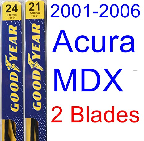 Amazoncom Acura MDX Replacement Wiper Blade SetKit Set - 2006 acura rl wiper blades