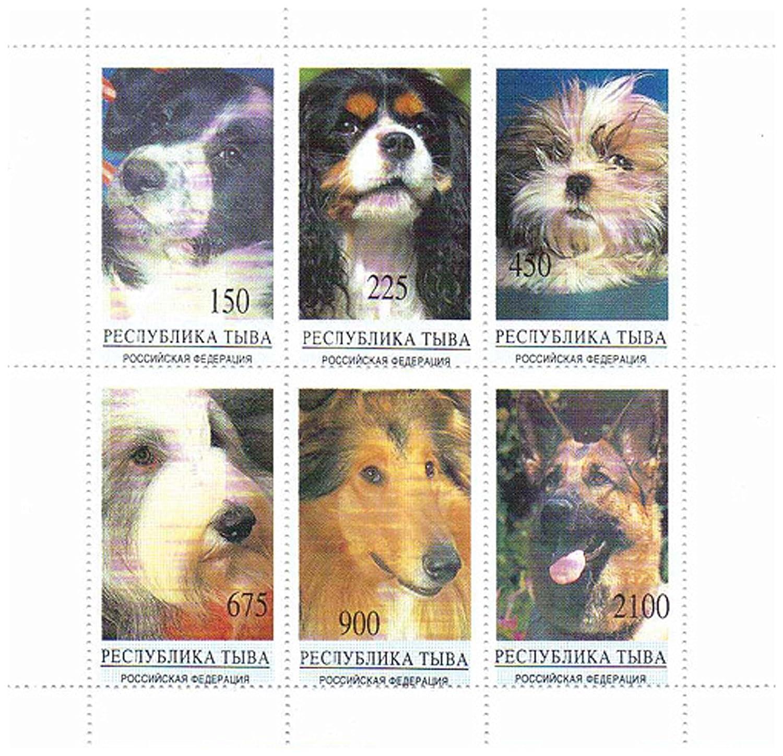 Mint NH Timbres pour collectionneurs superbe /état Belles chiens timbres de nature Id/éal pour la collecte 6 /état neuf timbres comportant canines imprenable