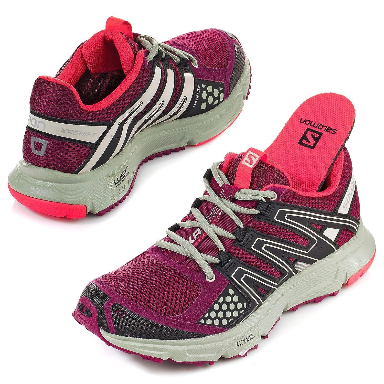 23019d81966 Salomon XR SHIFT W Red Women Trail Running Shoes Sensiflex  Amazon.co.uk   Sports   Outdoors