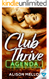 Club Thrive: Agenda (The Club Thrive Series Book 3)