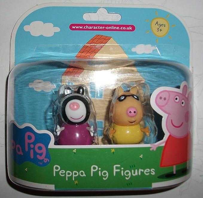 Peppa Pig figuras Zoe Zebra y Pedro Pony Twin Pack: Amazon.es: Juguetes y juegos