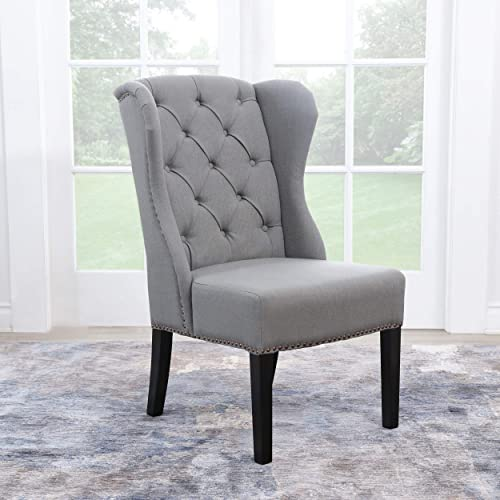 Abbyson Living Wingback Dining Chair