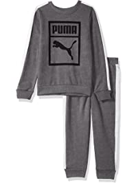 PUMA Boys Boys' Heritage 2 Piece Set Sweatshirt