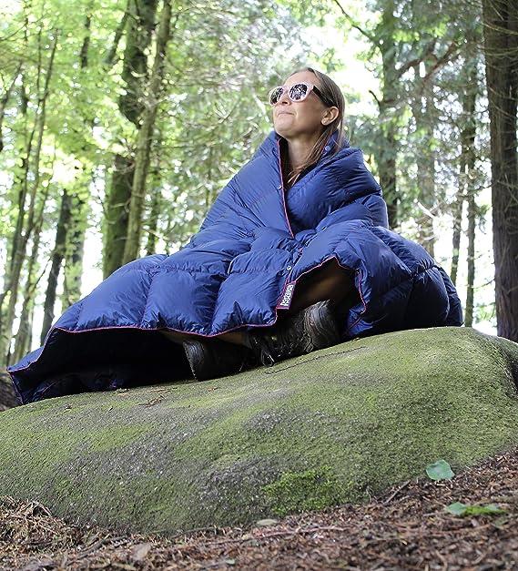 Horizon Hound Down Manta de Camping - Manta de plumón Ligera ...