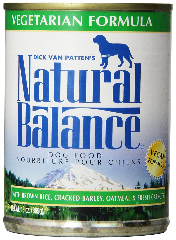 Natural Balance Vegetarian Formula Dog Food (Pack of 12 13-Ounce Cans)