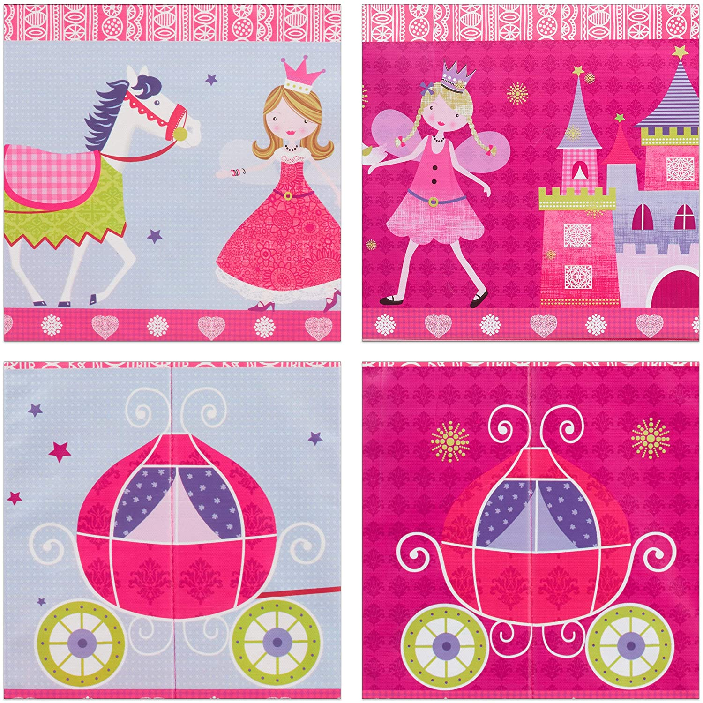 Circus Circo Relaxdays Pouf per Bambini Bimbi e Bimbe Sgabello Contenitore per Giocattoli Turchese Pieghevole 36 x 60,5 x 30,5 cm Salvaspazio