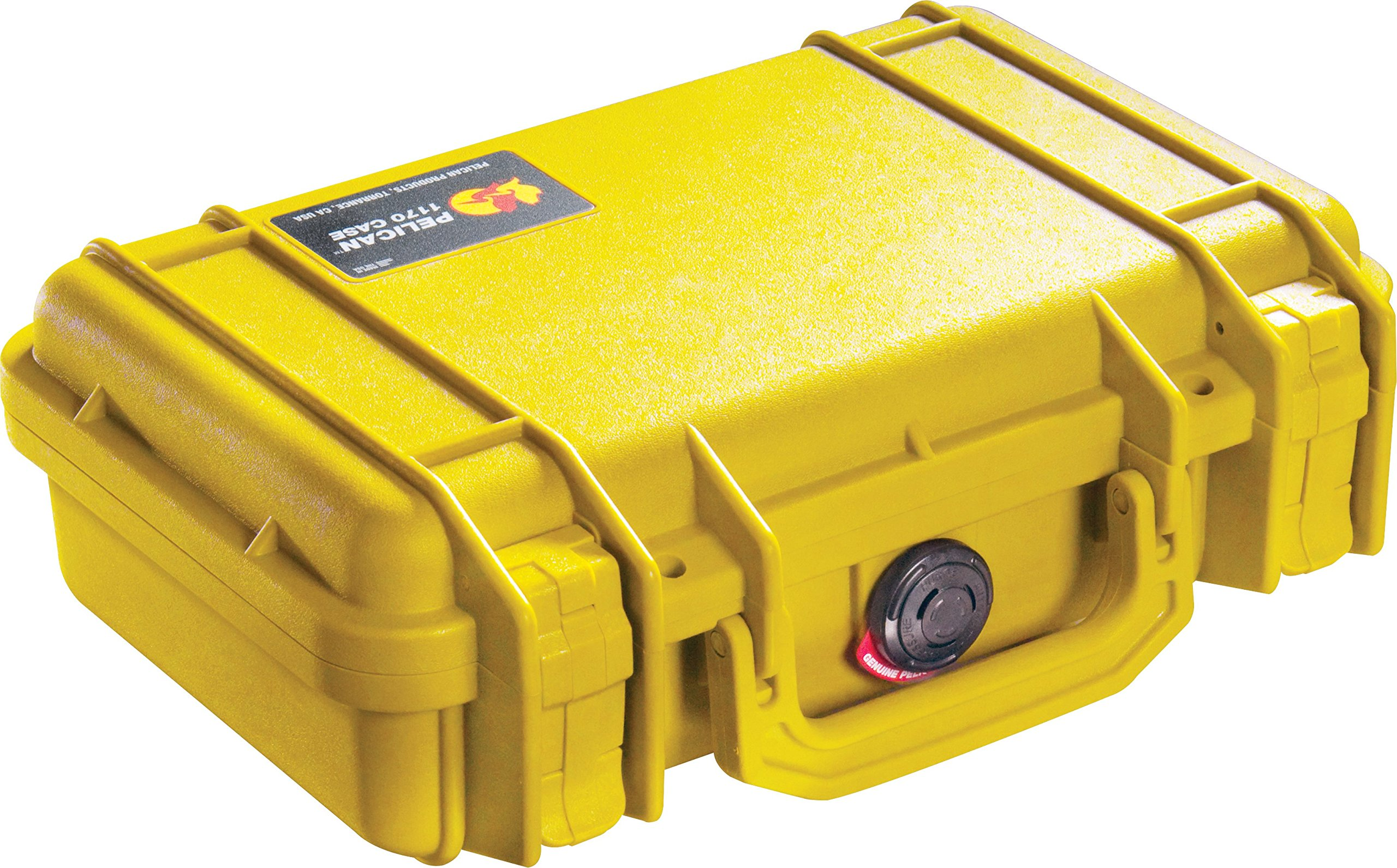Pelican 1170 Case With Foam (Yellow) by Pelican