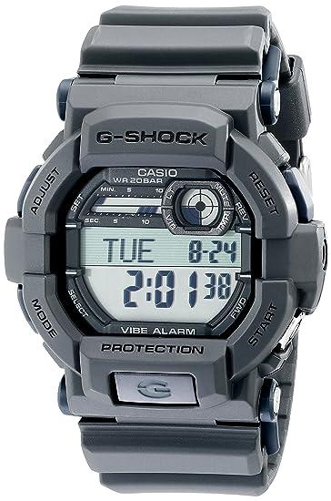 Casio GD350-8 - Reloj de Pulsera Hombre, Resina, Color Gris: Amazon ...