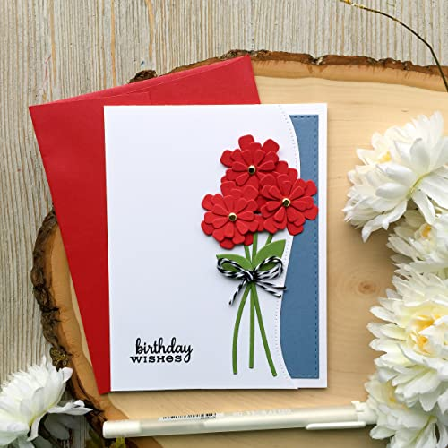 Amazon Handmade Birthday Card Flower Happy